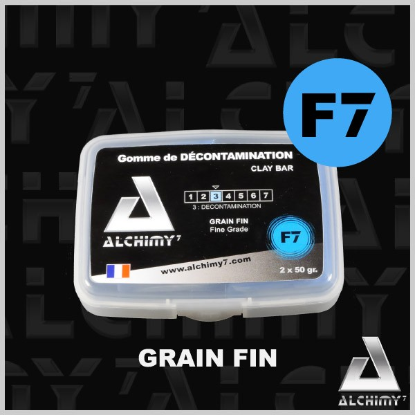 Gomme de Décontamination F<span class='a7'>7</span> Alchimy - Clay Bar fine grade